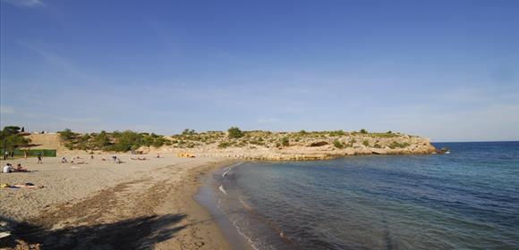 La playa Cala Bon Capó se encuentra en el municipio de L'Ametlla de Mar, perteneciente a la provincia de Tarragona y a la comunidad autónoma de Cataluña