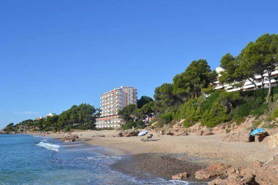 La playa Cala Vieneses / Cala dels Vienesos se encuentra en el municipio de Mont-roig del Camp, perteneciente a la provincia de Tarragona y a la comunidad autónoma de Cataluña