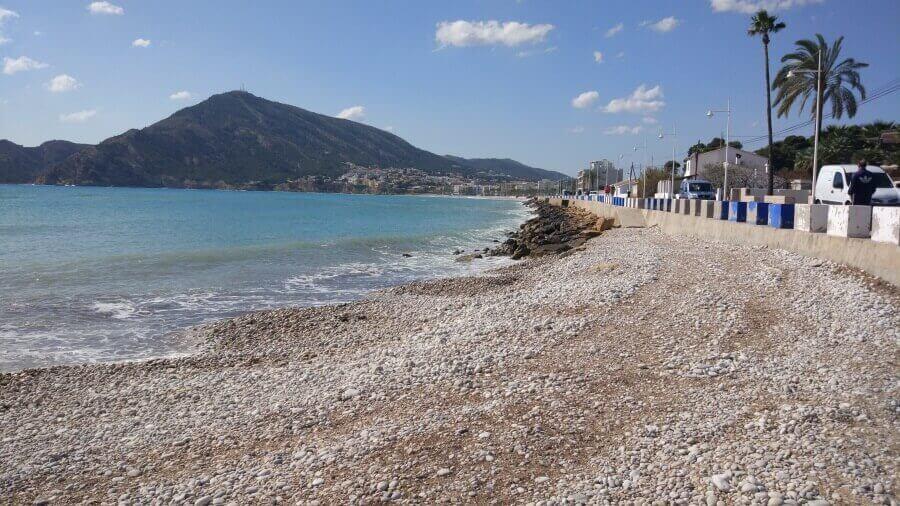 La playa Cap Blanc se encuentra en el municipio de Altea, perteneciente a la provincia de Alicante y a la comunidad autónoma de Comunidad Valenciana