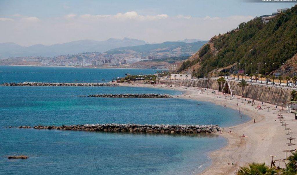 La playa El Chorrillo se encuentra en el municipio de Ceuta, perteneciente a la provincia de Ceuta y a la comunidad autónoma de Ceuta