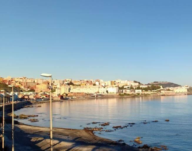 La playa El Tarajal se encuentra en el municipio de Ceuta, perteneciente a la provincia de Ceuta y a la comunidad autónoma de Ceuta