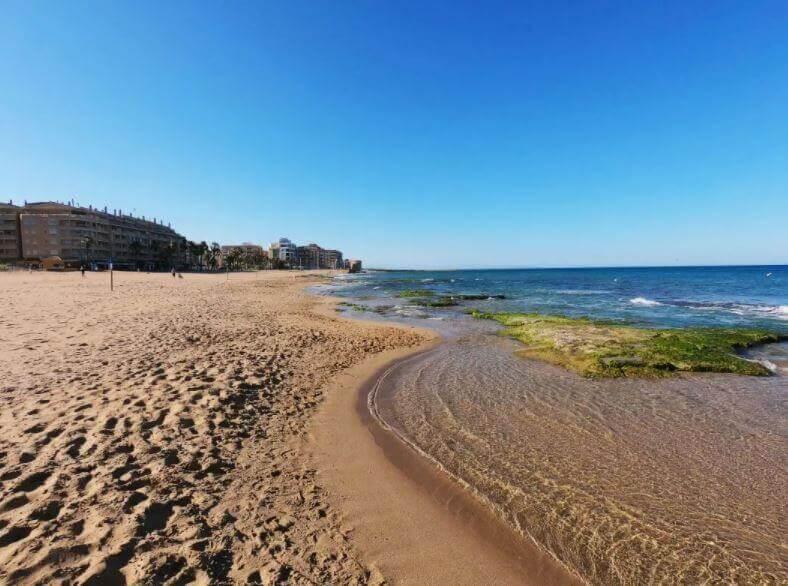 La playa La Mata se encuentra en el municipio de Torrevieja, perteneciente a la provincia de Alicante y a la comunidad autónoma de Comunidad Valenciana