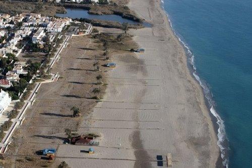 La playa Las Marinas / Marinas-Bolaga / Mar y Cielo se encuentra en el municipio de Vera, perteneciente a la provincia de Almería y a la comunidad autónoma de Andalucía
