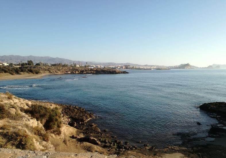 La playa Matalentisco se encuentra en el municipio de Águilas, perteneciente a la provincia de Murcia y a la comunidad autónoma de Región de Murcia