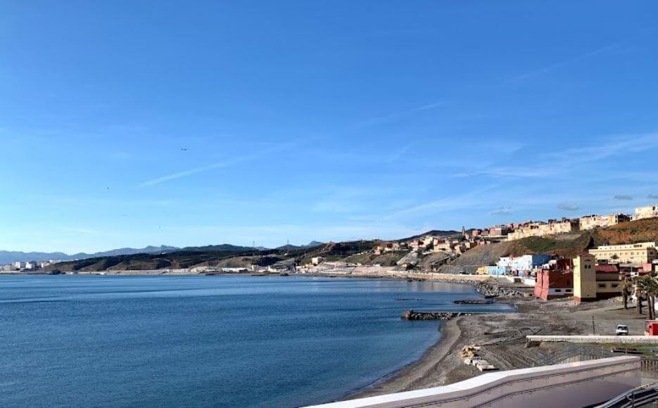La playa Miramar se encuentra en el municipio de Ceuta, perteneciente a la provincia de Ceuta y a la comunidad autónoma de Ceuta