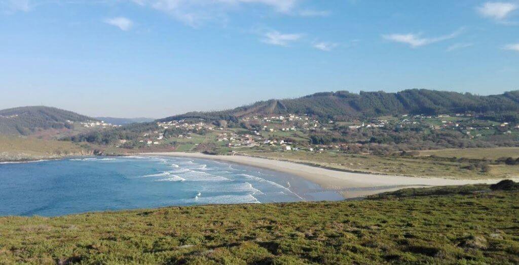 La playa Pantín / O Rodo se encuentra en el municipio de Valdoviño, perteneciente a la provincia de A Coruña y a la comunidad autónoma de Galicia