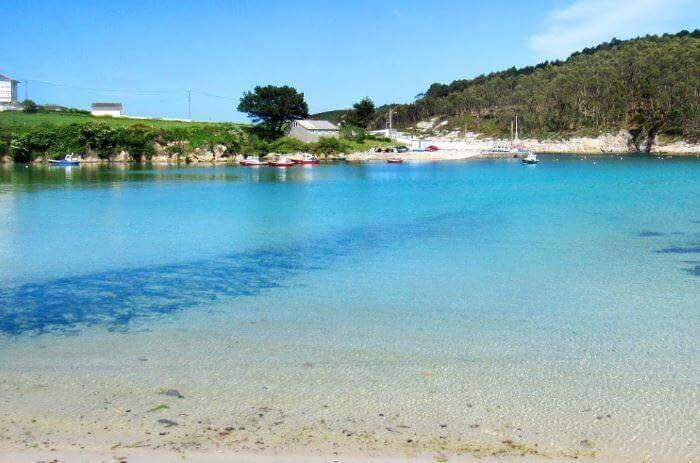 La playa Portocelo se encuentra en el municipio de Xove, perteneciente a la provincia de Lugo y a la comunidad autónoma de Galicia