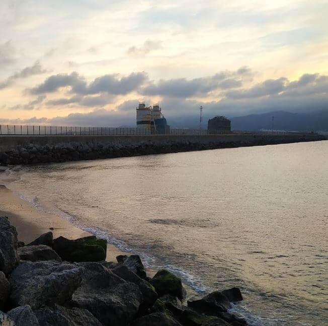 La playa San Amaro se encuentra en el municipio de Ceuta, perteneciente a la provincia de Ceuta y a la comunidad autónoma de Ceuta
