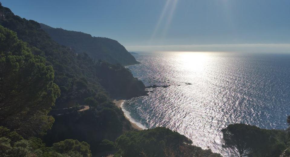 La playa Senyor Ramón se encuentra en el municipio de Santa Cristina d'Aro, perteneciente a la provincia de Girona y a la comunidad autónoma de Cataluña